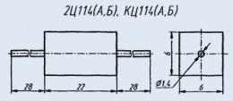 Диодный столб 2Ц114А