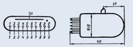Индикатор вакуумный ИН-2
