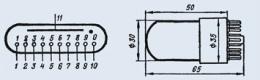 Индикатор вакуумный ИЦЛ1-9/8Л