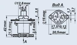 Кнопка МПК1С-6В