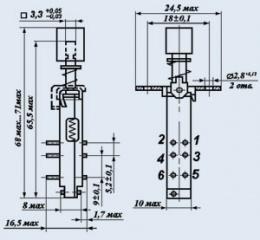 Кнопка ПКН41-1-2