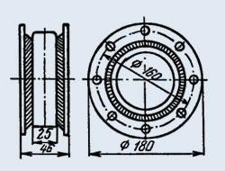 Купить Конденсатор керамический высоковольтный К15-14Б 10 пф 6 кв
