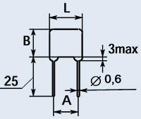 Купить Конденсатор керамический К10-73-1Б 0.015 мкф Н90