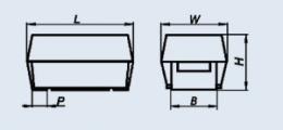Конденсатор оксидно-полупроводниковый К53-68 E 15 мкф 50 в