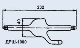 Лампа газоразрядная ДРШ-1000