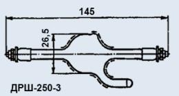 Лампа газоразрядная ДРШ-250-3