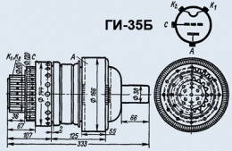Лампа генераторная ГИ-35Б