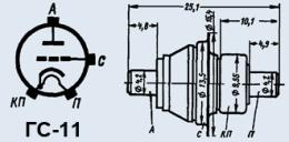 Лампа генераторная ГС-11