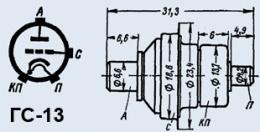 Лампа генераторная ГС-13