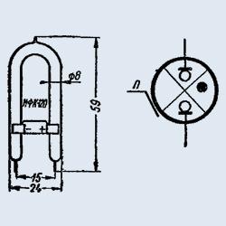 Лампа импульсная ИФК-120