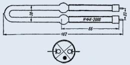 Лампа импульсная ИФК-2000