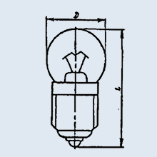 خرید کن لامپ نوری عملیات 6.3 0.22