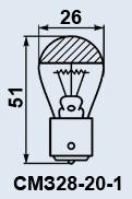 Buy Lamp plane SMZ-28-20-1 of B15s/18