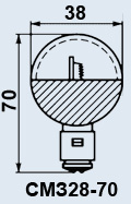 Buy Lamp plane SMZ-28-70 of P20d/21