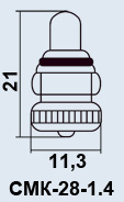 Buy Lamp plane CMK-28-1.4 1-2M10-1