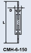 Buy Lamp the subminiature CMH-6-150