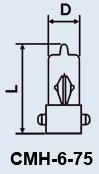 cumpără Super Mini lampa MNT-6-75