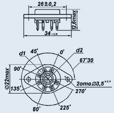 Купить Ламповая панель ПЛ4Ш-2ПВ