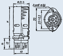 Купить Ламповая панель ПЛ7-2КЭ46