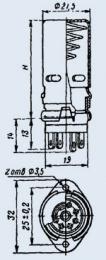 Купить Ламповая панель ПЛК7-Э46