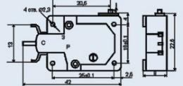 Buy MI-3V microswitch