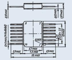 Микросхема 5584ЛЕ1Т