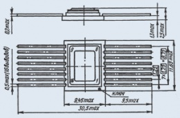 Микросхема 564ИЕ22