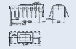 Микросхема 572ПА1Б