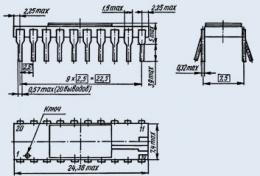 Микросхема 580ВА87