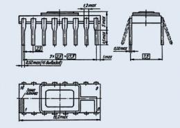 Микросхема 580ГФ24