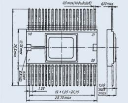 Микросхема 585ИК01