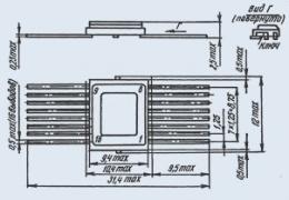 Микросхема 585ХЛ4