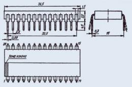 Микросхема 589ИК03