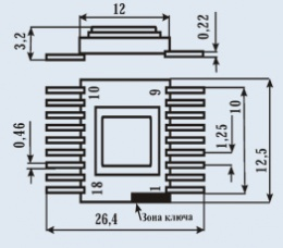 Микросхема 590КН17