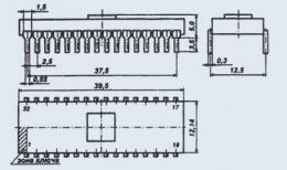 Микросхема 591КН3