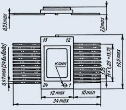 Микросхема 594ПА1