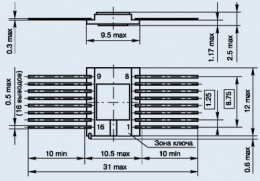 Микросхема 597СА1Б
