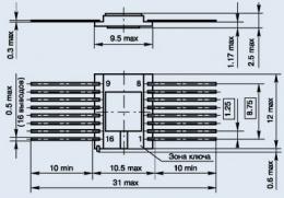 Микросхема 597СА2А