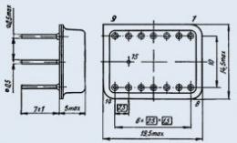 Микросхема 820УД1