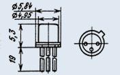 Микросхема К1019ЕМ1