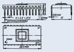 Микросхема К1108ПА1Б