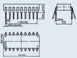 Микросхема К1109КТ4Б