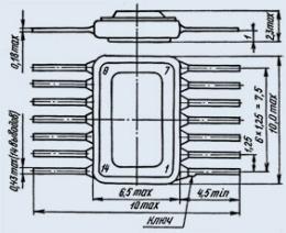 Микросхема К119ТЛ1