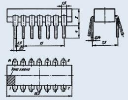 Микросхема К131ЛА4