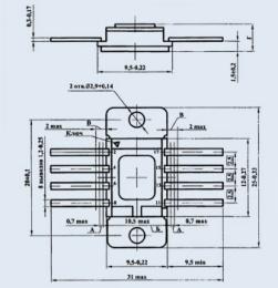 Микросхема К142ЕН3Б