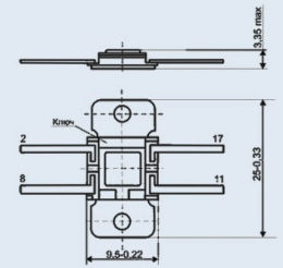 Микросхема К142ЕН8Б