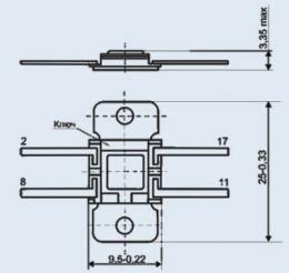 Микросхема К142ЕН9Д