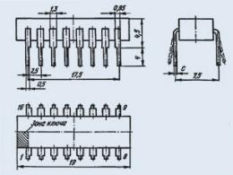 Микросхема К155ИВ1
