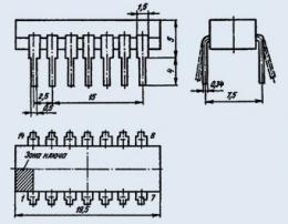 Микросхема К155ИМ1