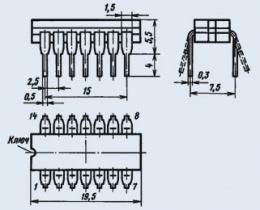 Микросхема К158ЛА4